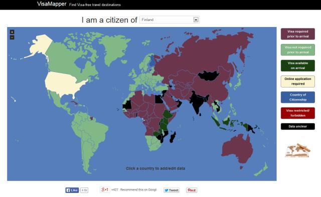 ویزا برای کشور های دیگر