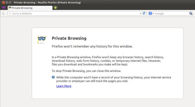 مرور خصوصی در فایرفاکس