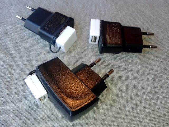 شارژر های یو اس بی ساخته شده