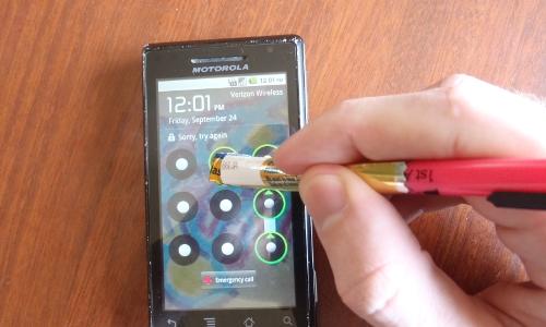 ساخت قلم برای موبایل - مرحله 4