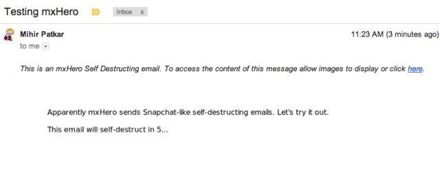 نابود شدن ایمیل ارسالی